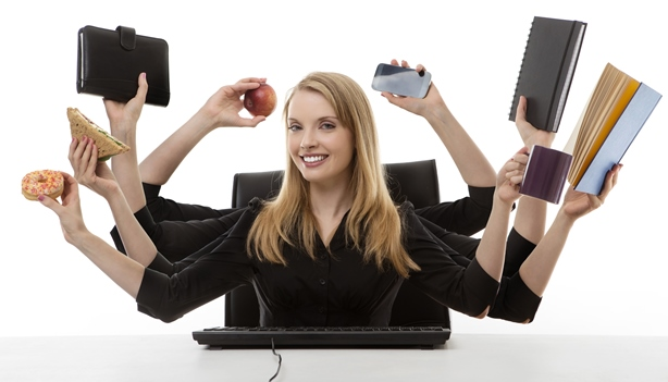 vrouwen & multitasken